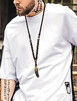 Муж. Жен. Ожерелья с подвесками Геометрической формы Позолота Мода По заказу покупателя Бижутерия Назначение Повседневные