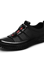 Men's Shoes Spandex Spring Fall Driving Shoes Loafers & Slip-Ons For Casual Party & Evening Gray Black
