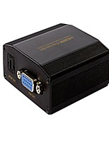 1080P HDMI to VGA SPDIF/ Analog Audio Converter Adapter Support 5.1ch And DTS/AC3/LPCM/PCM Digital Audio Output