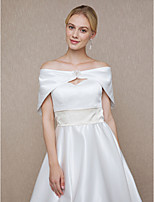 Women's Wrap Capelets Satin Wedding Party/ Evening Rhinestone