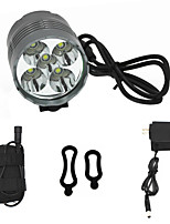 ANOWL Bike Lights LED 5000 lm 3 Mode Cree XM-L T6 with Battery , Charger & Adapter Easy Carrying High Quality Cycling/Bike