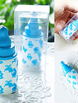 4box/Set - Baby Bottle Candle Favors Beter Gifts®Birthday Cake Decoration - 4 x 4 x 7.5 cm/box