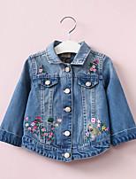 Girls' Print Suit & Blazer,Cotton Fall Long Sleeve