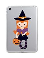 economico -Per iPad (2017) Custodie cover Transparente Fantasia/disegno Custodia posteriore Custodia Transparente Halloween Morbido TPU per Apple