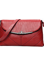 Women Bags All Seasons PU Shoulder Bag Tiered for Casual Office & Career Black Red Blushing Pink Gray