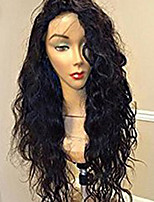 Women Human Hair Lace Wig Brazilian Human Hair Lace Front 130% Density With Baby Hair Natural Wave Wig Black Short Medium Length Long