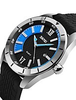 9151 SKMEI Wathces Men Luxury Brand 2017 Fashion Sport Style Top Quartz Watch Water Resistant Silicone Strap Wristwatch Clock