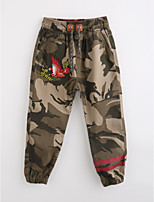 Boys' Camouflage Pants-Cotton Fall