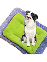 Dog Bed Pet Liners Polka Dot Purple Green