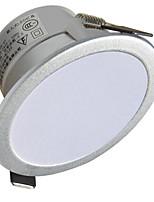 1Pc 6W Led Downlight Celing Light Warm Yellow/Warm White/White AC220V Size Hole 80mm 3000/4000/5700K