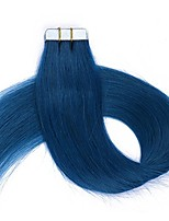 16-24 Inch Hair Extensions Tape in Real Human Hair 20PCS