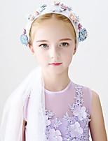 Girl's Headband Cloth Flower Decoration Party Headwear Hair Accessory