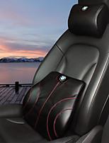 автомобильный Подушки для подголовника и талии Назначение BMW Все года Все модели Подушечки под спину в авто Кожа