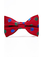 Men's Polyester Bow Tie,Pattern Jacquard All Seasons