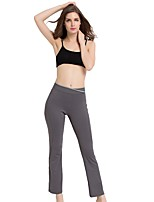 Women's Running Pants Pants / Trousers for Yoga Running/Jogging Exercise & Fitness Polyester Grey