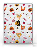 cheap -For iPad (2017) Case Cover Transparent Pattern Back Cover Case Transparent Halloween Soft TPU for Apple iPad pro 10.5 iPad (2017) iPad