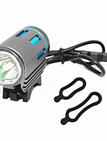 LED Light LED 1200 Lumens 3 Mode XM-L2 U2 No Portable Travel Size Wearproof for Cycling/Bike