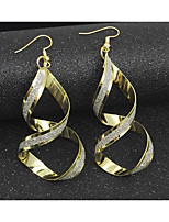 Women's Hoop Earrings Basic Alloy Jewelry For Office & Career Club