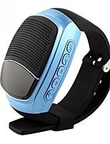 B90 Style mini Extérieur Bluetooth Affichage de l'heure USB Enceinte Extérieure Or Noir Argent Rose Pailleté Bleu clair