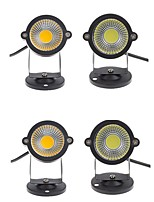 4pcs 3W Outdoor Landscape LED Lawn Light Garden Spot Light Spike 12V Energy Saving 350LM Warm/Cool White AC85-265V/DC12V
