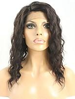 Damen Echthaar Perücken mit Spitze Haare mit intakter Kutikula (Remy Hair) Ohne Klebstoff und  Spitze in der Front 150% Dichte Mit