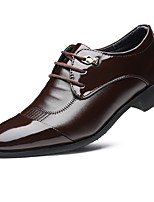 Men's Shoes TPU Fall Winter Formal Shoes Oxfords For Dress Office & Career Black Coffee