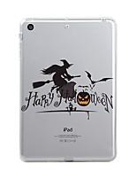 abordables -Para iPad (2017) Carcasa Funda Transparente Diseños Cubierta Trasera Funda Transparente Halloween Suave TPU para Apple iPad (2017) iPad