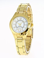 Women's Fashion Watch Wrist watch Chinese Quartz Alloy Band Casual Silver Gold