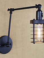 AC 110-120 AC 220-240 40 E26/E27 Vintage Country Traditional/Classic Retro Painting Feature for Mini Style Swing Arm Bulb Included