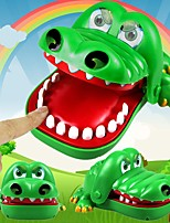 Large Bulldog Crocodile Shark Mouth Dentist Bite Finger Game Funny Novelty Gag Toy for Fun