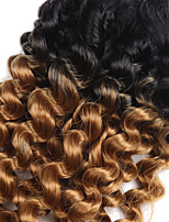 Curly Braids Hair Braid Toni Curl Jamaican Bounce Hair 100% Kanekalon Hair Black/Purple Medium Brown Black/Strawberry Blonde Black