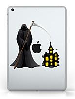 abordables -Para iPad (2017) Carcasa Funda Transparente Diseños Cubierta Trasera Funda Transparente Halloween Suave TPU para Apple IPad pro 10.5 iPad