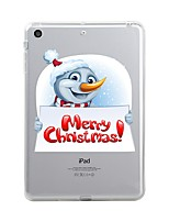 Назначение iPad (2017) Чехлы панели Прозрачный С узором Задняя крышка Кейс для Прозрачный Рождество Мягкий Термопластик для Apple iPad