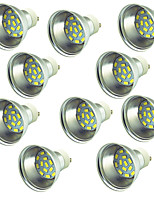 10 pcs 3W LED Spotlight 15 leds SMD 5730 Decorative Warm White Cold White 300lm 3000-7000K DC 12-24V