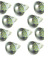 10 pezzi 3W Faretti LED 15 leds SMD 5730 Decorativo Bianco caldo Luce fredda 300lm 3000-7000
