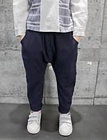 Pantaloni Da ragazzo Cotone Tinta unita Primavera Autunno
