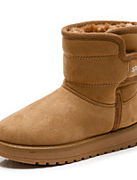 Boys' Shoes Fabric Winter Fluff Lining Snow Boots Fashion Boots Boots Mid-Calf Boots For Casual Outdoor Camel Black