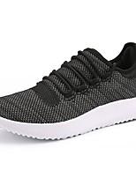 Women's Shoes PU Spring Summer Comfort Sneakers Low Heel For Casual Khaki Blushing Pink Gray Black