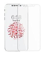 Hartglas Displayschutzfolie für Apple iPhone X Vorderer Bildschirmschutz Bildschirmschutz für das ganze Gerät 2.5D abgerundete Ecken