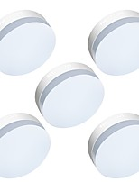 5 PCS LED 6W Surface Mounted Panel Ceiling Light 40W Equivalent Incandescent Light