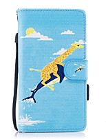 For Case Cover Card Holder Wallet with Stand Flip Magnetic Pattern Full Body Case Animal Hard PU Leather for Samsung Galaxy J5 (2016) J5