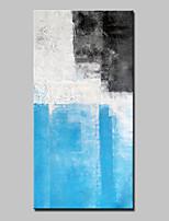 Handgemalte Abstrakt Vertikal,Abstrakt Modern Ein Panel Leinwand Hang-Ölgemälde For Haus Dekoration