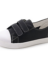 Women's Shoes Rubber Summer Comfort Sneakers Flat Heel Round Toe For Outdoor Black White