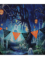Wall Decor Paper Halloween Wall Art,1