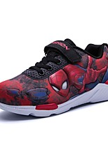 Boys' Shoes Knit Cotton Fall Winter Comfort Hip-Hop Magic Tape For Casual Red Dark Blue