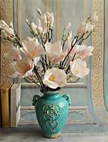 1 Ramo Seda Flores artificiais
