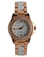 Women's Fashion Watch Wrist watch Japanese Quartz / Alloy Band Elegant Casual Rose Gold