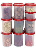 10 Kitchen Plastic Food Storage