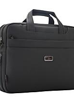 Men Bags All Seasons Oxford Cloth Briefcase Zipper for Office & Career Dark Gray