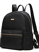 Women Bags All Seasons Oxford Cloth Backpack Zipper for Casual Office & Career Black